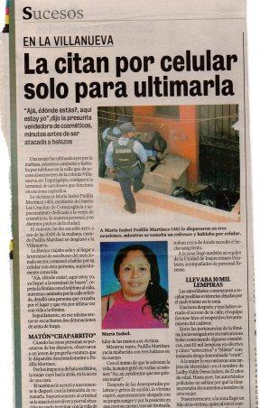 Los casos además tienen una cobertura con violencia mediática.