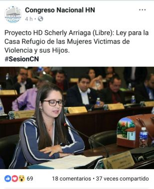 La diputada de Libre presentó la. iniciativa de ley