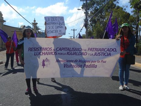 La organización Visitación Padilla recordó a una de sus fundadoras, Gladys Lanza, que falleció criminalizada por defender a una víctima de acoso sexual.