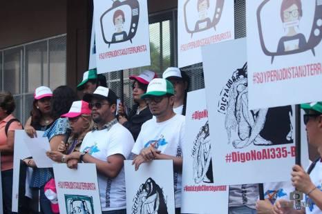 La protesta se llevó a cabo el 24 de mayo frente al Ministerio Público a seis años y medio de buscar justicia.